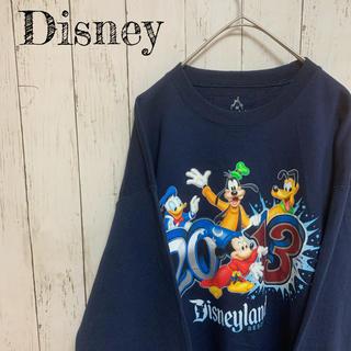 ディズニー(Disney)のUSA 輸入品 ディズニー プリント スウェット トレーナー ビッグサイズ(スウェット)