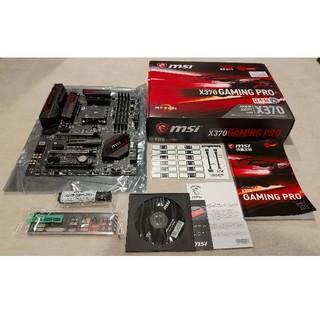 MSI x370 GAMING PRO + Ryzen 7 1700X(PCパーツ)