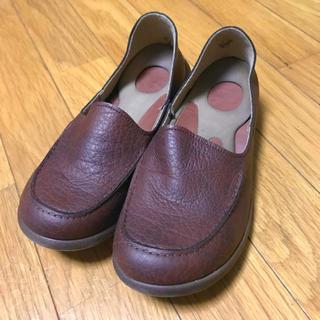 リゲッタ(Re:getA)の◆リゲッタ レディース ドライビングローファー(ブラウン)◆(ローファー/革靴)