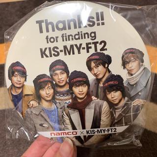 キスマイフットツー(Kis-My-Ft2)のキスマイ缶バッチナムコ(アイドルグッズ)