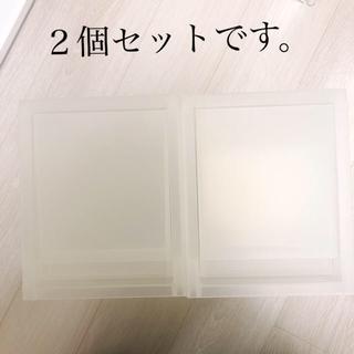 MUJI (無印良品) -  無印 ポリプロピレンケース引出式ハーフ・深型
