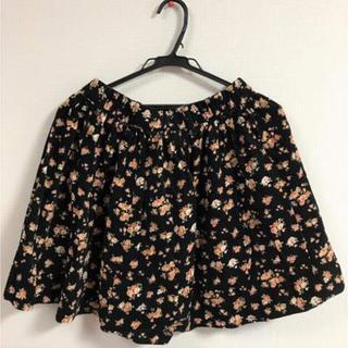 ハニーズ(HONEYS)の花柄のスカート Lサイズ (ミニスカート)