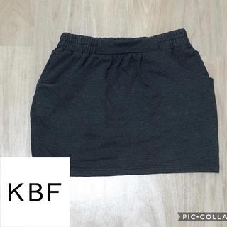 ケービーエフ(KBF)のスカート 【ケービーエフ KBF】(ミニスカート)