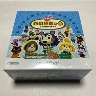 ニンテンドースイッチ(Nintendo Switch)のどうぶつの森amiiboカード 第3弾 1BOX 50パック入り(Box/デッキ/パック)