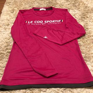 ルコックスポルティフ(le coq sportif)のルコック レディース長袖シャツLサイズ(Tシャツ(長袖/七分))
