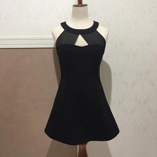 リップサービス(LIP SERVICE)のホルターネックレースドレス ワンピース キャバ(ナイトドレス)