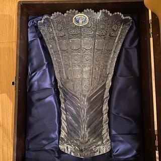 ボヘミア クリスタル(BOHEMIA Cristal)の新品未使用 ボヘミアクリスタル(花瓶)