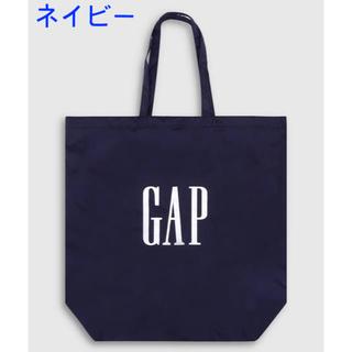 ギャップ(GAP)の『新品』GAP エコバッグ ネイビー1点(エコバッグ)