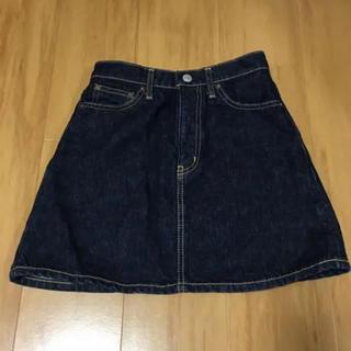 スライ(SLY)のSLY 台形デニムスカート サイズ1(ミニスカート)