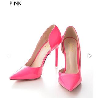 デイジーストア(dazzy store)の【 中古 】ピンク ♡ エナメル ♡ パンプス(ハイヒール/パンプス)