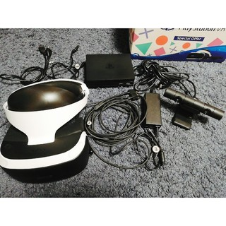プレイステーションヴィーアール(PlayStation VR)のPlayStationVR CUHJ-16007(家庭用ゲーム機本体)