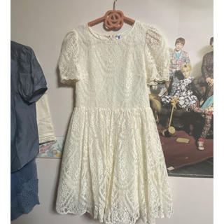 ジルスチュアート(JILLSTUART)の刺繍ドレス(ミディアムドレス)