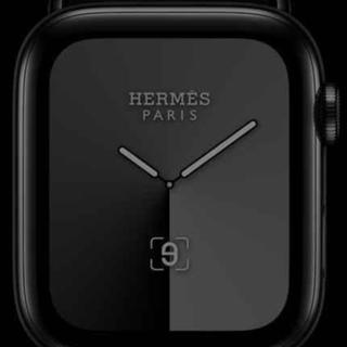 Apple Watch Hermes Series 5・44mm/ブラック(腕時計(デジタル))