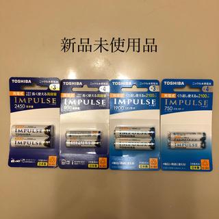 東芝 - TOSHIBA東芝ニッケル水素電池 単3形4本&単4形4本