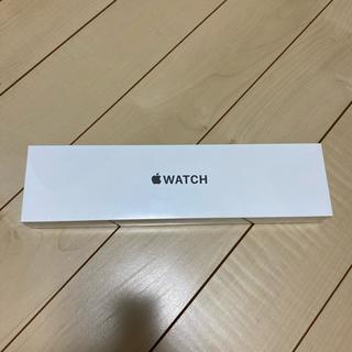 アップルウォッチ(Apple Watch)の新品 apple Watch Series 6 GPS 40mm スペースグレイ(スマートフォン本体)