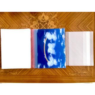 コクヨ(コクヨ)のクリアファイル まとめ売り透明 ピンク 青 虹 レインボー A4 B5 25枚(ファイル/バインダー)