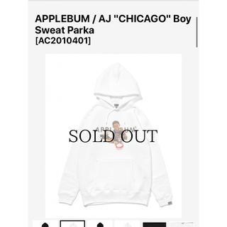 アップルバム(APPLEBUM)のアップルバム APPLEBUM  CHICAGO Boy パーカー(パーカー)