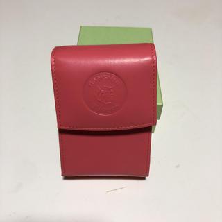 ハンシンタイガース(阪神タイガース)の阪神タイガース タバコケース ピンク色(タバコグッズ)