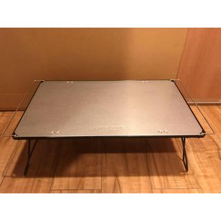 ユニフレーム(UNIFLAME)のUNIFLAME ユニフレーム フィールドラック黒+ステンレス天板II(テーブル/チェア)