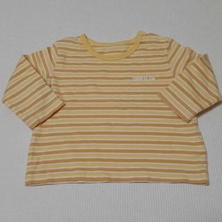 コムサイズム(COMME CA ISM)のコムサ ボーダー ロンT Tシャツ 長袖 70(Tシャツ)