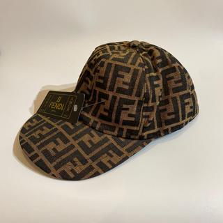 フェンディ(FENDI)のフェンディ FENDI ズッカ柄 帽子 キャップ(キャップ)