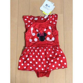 ディズニー(Disney)の新品タグ付き Disney ミニーマウス 女の子 水着(水着)
