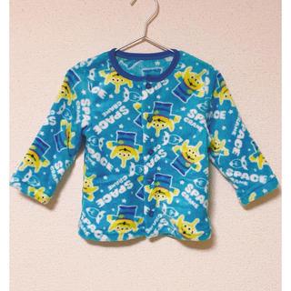 トイストーリー(トイ・ストーリー)の♡リトルグリーンメふわもこパジャマ★新品‼️90cm(パジャマ)