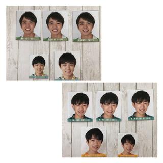 ジャニーズジュニア(ジャニーズJr.)の少年忍者【にぼし】データカード(デタカ)(アイドルグッズ)