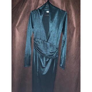 タイトドレス ロングドレス ボディコン 輸入ドレス(ロングドレス)
