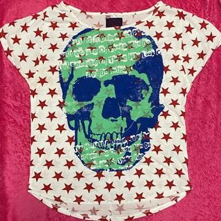 ファンキーフルーツ(FUNKY FRUIT)の★美品★ファンキーフルーツ★スターパンクドクロTシャツ★(Tシャツ(半袖/袖なし))