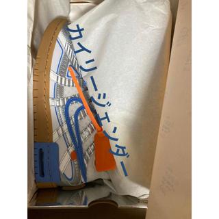 ナイキ(NIKE)のナイキ オフホワイト ラバーダンク 26.5センチ(スニーカー)
