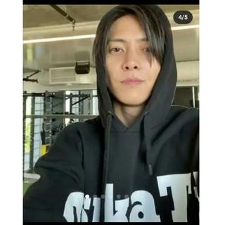 Onitsuka Tiger - 山P着♥激レア♥オニツカタイガー♥非売品ビッグパーカー♥RVCA y‐3 MCM