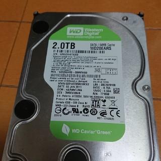 ウエスタンエディション(Western Edition)のWD HDD 2TB SATA(PCパーツ)