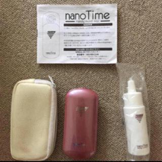 ハンディミスト ナノタイム nanotime  シャンパンピンク(フェイスケア/美顔器)