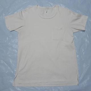 アタッチメント(ATTACHIMENT)の日本製 高級◆アタッチメント 厚手 Cネック 半袖Tシャツ 白 3◆カットソー(Tシャツ/カットソー(半袖/袖なし))