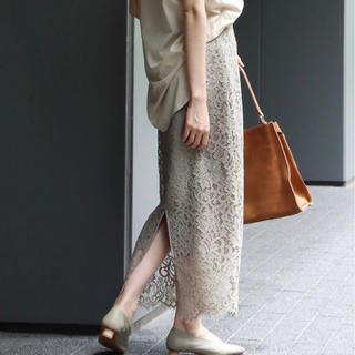 ノーブル(Noble)のノーブル  リバーレースタイトスカート(ロングスカート)