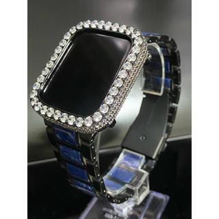 アップルウォッチカスタムカバーベルトセット アップルウォッチカスタムベゼル(腕時計(デジタル))
