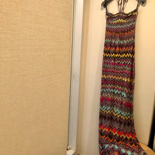 ビーシービージーマックスアズリア(BCBGMAXAZRIA)のBCBG マキシ ベアトップ ドレス(ロングワンピース/マキシワンピース)