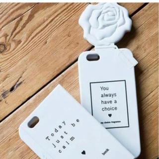 マーキュリーデュオ(MERCURYDUO)のMERCURYDUO FlowerディフューザーシリコンiPhoneケース(iPhoneケース)