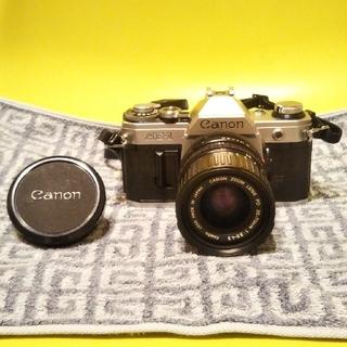 キヤノン(Canon)のCanon AE-1 FD シルバー 35-70mm F3.5-4.5(フィルムカメラ)