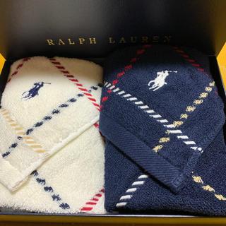 Ralph Lauren - 【新品】ラルフローレン  ウォッシュタオルセット