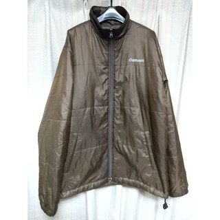 カーハート(carhartt)のCarhartt 中綿ジャケット Lサイズ 茶色 カーハート メンズ ワーク 服(ダウンジャケット)