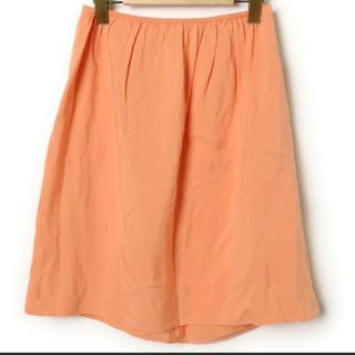 プラージュ(Plage)のプラージュ オレンジ フレアスカート(ひざ丈スカート)