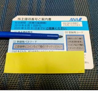エーエヌエー(ゼンニッポンクウユ)(ANA(全日本空輸))のANA株主優待券 1枚 11月末期限(航空券)