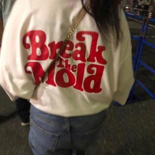 スタイルナンダ(STYLENANDA)の❤︎ breakthemold . tshirt ❤︎(Tシャツ(半袖/袖なし))