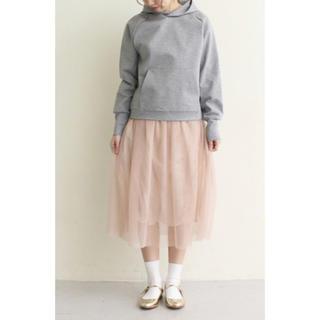 ドットアンドストライプスチャイルドウーマン(Dot&Stripes CHILDWOMAN)のDot&Stripeschildwoman チュールギャザースカート(ひざ丈スカート)