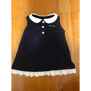 コムサイズム(COMME CA ISM)のワンピース コムサイズム 80サイズ 女の子用 赤ちゃん服(ワンピース)