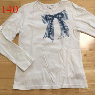 サンカンシオン(3can4on)の140 3can4on  白色ロンT(Tシャツ/カットソー)