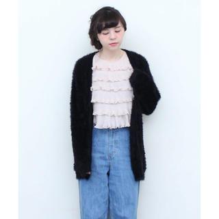 ドットアンドストライプスチャイルドウーマン(Dot&Stripes CHILDWOMAN)の新品Dot&Stripes CHILD WOMAN*フェザーヤーンカーディガン(カーディガン)