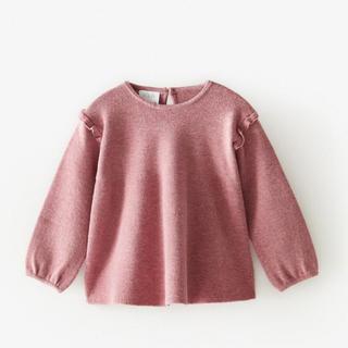 ZARA KIDS - 新品未使用✳︎zara kids フリル付きセーター